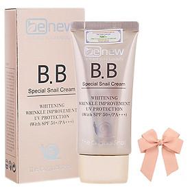 Kem nền siêu mịn lâu trôi BB cream Benew SPF 50 PA+++ Hàn quốc ( 50ml) và nơ