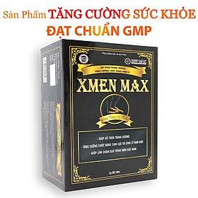 XMEN MAX - Cải thiện chức năng Sinh Lý Nam, Bồi bổ sức khỏe Nam giới, cải thiện tình trạng suy nhược cơ thể, sức đề kháng (Hộp 60 viên)