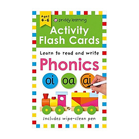 Activity Flash Cards Phonics - Activity Flash Cards (Paperback)