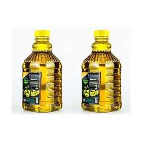 2 chai dầu Oliu hạt cải Kankoo loại 1 lít - Dầu ăn nhập khẩu Úc cực tốt cho sức khỏe - nấu gì cũng ngon