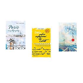 Combo 3 cuốn sách: Paris Trong Hộp Giày + Chuyện Ở Vịnh Tokyo + Sống Như Ngày Mai Sẽ Chết