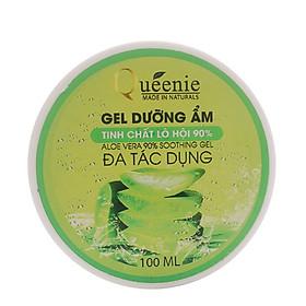 Gel lô hội Queenie trải nghiệm dưỡng ẩm, se nhỏ lỗ chân lông 100ml - Mỹ Phẩm Hàn Quốc