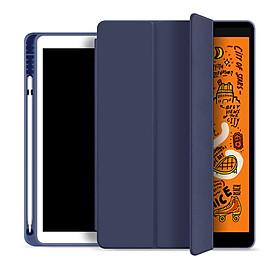 Bao Da Cover Dành Cho Apple Ipad 10.2 Inch 2019 Có Khe Cho Apple Pencil Hỗ Trợ Smart Cover