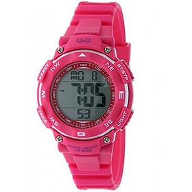 Đồng hồ điện tử nữ Q&Q Citizen M149J006Y dây nhựa thương hiệu Nhật Bản