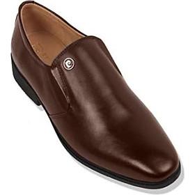 Giày Da Pierre Cardin Penny Loafer - PCMFWLC089BRW màu nâu