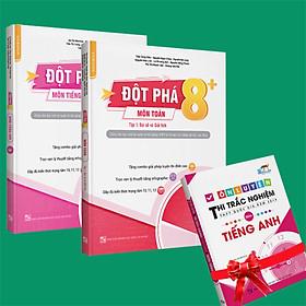 Sách - Combo Đột phá 8+(Phiên bản 2020) môn Toán tập 1(đại số và giải tích) và Tiếng anh tập 1 (Tặng ngay 1 cuốn Ôn luyện thi trắc nghiệm THPTQG môn Tiếng anh)