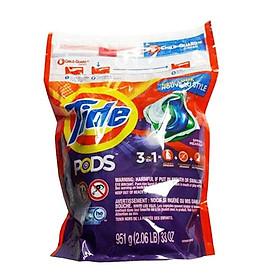 Viên giặt Tide Pod 3 in 1 Sping Meadow hương cỏ may 42 viên