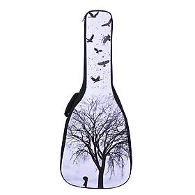 Bao Đựng Đàn Guitar Đeo Lưng Chất Liệu PU Chống Nước (41& 42 Inch)