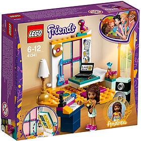 Bộ Lắp Ráp Phòng Ngủ Của Andrea LEGO FRIENDS 41341 (85 chi tiết) (Hàng Clearance-Không Đổi Trả)