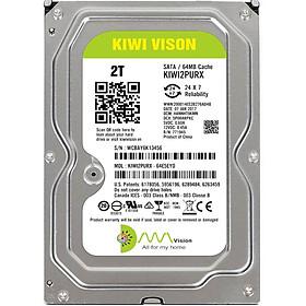 Ổ cứng HDD KIWI VISION 2TB SATA 3 - Hàng chính hãng cao cấp