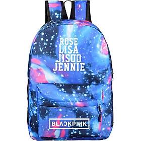 Balo blackpink galaxy tặng vòng tay nam nữ balo nam nữ đi chơi đi học tiện dụng đựng đồ học tập phong cách Hàn Quốc tặng ảnh thiết kế vcone