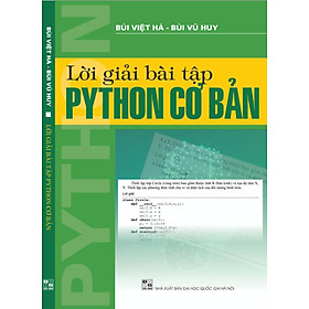 Lời giải bài tập Python cơ bản