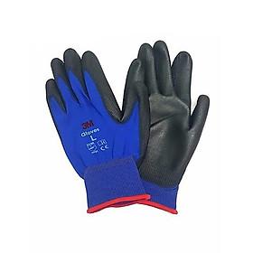 Sét 5 đôi găng tay bảo vệ tay 3M cực tốt, chống cắt 1, màu xanh đen, size L