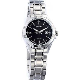 Đồng hồ nữ dây thép không gỉ Casio LTP-1308D-1AVDF