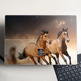 Skin dán hình Con ngựa cho Surface Go, Pro 2, Pro 3, Pro 4, Pro 5, Pro 6, Pro 7, Pro X