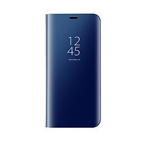 Bao Da Gập Bề Mặt Gương Chống Trầy Xước Cho Samsung Galaxy S8/S8 Plus