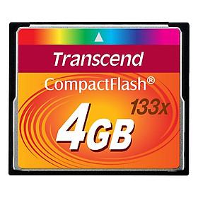 Thẻ Nhớ Transend CF 4GB 133x - Hàng Nhập Khẩu