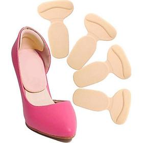 Bộ 2 Miếng Lót Giày Chữ T Bảo Vệ Gót Chân , Giảm Size , Chống Trầy Gót , Mềm Mại Siêu Êm - Chuyên Dụng Giày Cao Gót - LG018