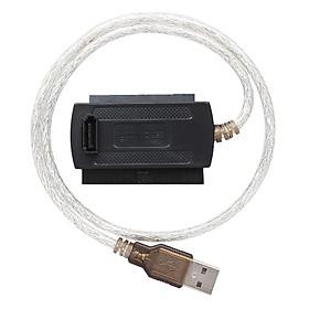 Cáp Chuyển Đổi USB 2.0 Sang Ổ Cứng HDD IDE SATA 2.5 3.5