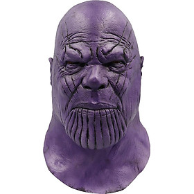 Mặt Nạ Thanos Cao Cấp, Mặt Nạ Halloween, Mặt Nạ Cosplay Avengers Endgame Thanos Bằng Cao Su Cao Cấp, Mặt Nạ Hóa Trang Thanos