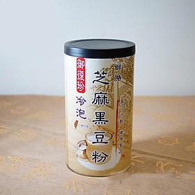 Bột đỗ đen vừng uống lạnh UFOOD - 460g/ lọ (ít đường)