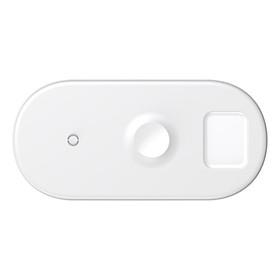 Sạc nhanh không dây 18W đa năng 3 in 1 ( iPhone/Apple Watch/Airpods) Baseus - Hàng chính hãng