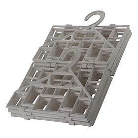 Kệ Gấp Để Đồ Bằng Nhựa, 5 Tầng Lock&Lock ETM362 (30 x 30 x 87 cm)