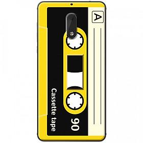 Hình đại diện sản phẩm Ốp lưng dành cho Nokia 6 mẫu Cassette vàng