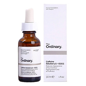Serum Dưỡng Mắt Che Quầng Thâm The Ordinary Caffeine Solution 5% + EGCG (30ml)