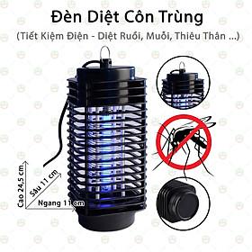 Đèn Diệt Côn Trùng Ruồi Muỗi - KhoNCC Hàng Chính Hãng - Dành Cho Gia Đình - Tiết Kiệm Điện Năng - KDHS-94-DDCT (Màu đen)