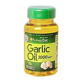 Thực phẩm chức năng bảo vệ sức khỏe tăng sức đề kháng Garlic Oil (tinh dầu tỏi) 1000mg