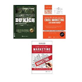Combo sách: Hướng dẫn bài bản cách làm Email Marketing cho doanh nghiệp | Ultimate Guide Series + Marketing Du Kích - 30 Chiến Lược Thực Chiến Mạnh Mẽ Tạo Động Lực Và Kết Quả Phi Thường + Những Chiến Lược Marketing Tạo Ra Lợi Nhuận
