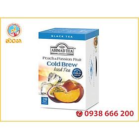 TRÀ AHMAD ĐÀO VÀ CHANH DÂY Pha Lạnh 40G (Peach&Passion Fruit Cold Brew)