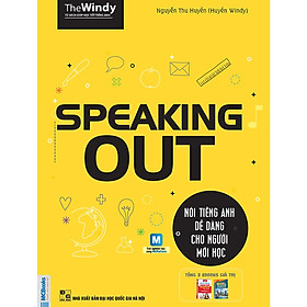 Speaking OUT - Nói Tiếng Anh Cho Người Mới Học (Cào Tem Để Mở Quà Tặng) (Học Cùng App MCBooks Application)