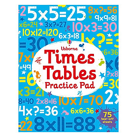 Usborne Times Tables Practice Pad
