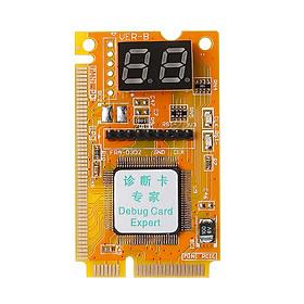 3 in 1 Mini PCI/PCI-E Card LPC PC Laptop Analyzer Tester Module Diagnostic Post Test Card Board