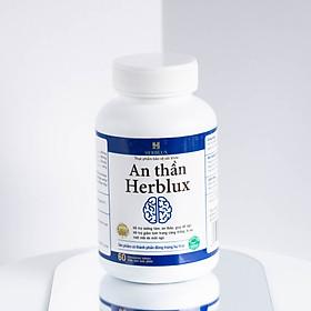 Thực Phẩm Bảo Vệ Sức Khỏe An Thần Herblux (60v) - Hỗ Trợ Dưỡng Tâm, An Thần, Giúp Dễ Ngủ, Hỗ Trợ Giảm Tình Trạng Căng Thẳng, Lo Âu, Mệt Mỏi Do Mất Ngủ