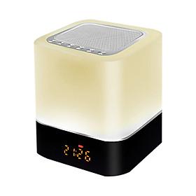 Loa Bluetooth Có Đèn LED, Chế Độ Báo Thức, Đồng Hồ Đa Năng