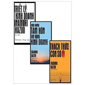Combo Triết Lý Kinh Doanh Của Inamori Kazuo + Nuôi Dưỡng Tâm Hồn Mở Rộng Kinh Doanh + Thách Thức Từ Con Số 0 (Tái Bản 2017) - Bộ 3 Cuốn