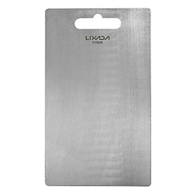 Lixada 1.8MM Thick Titanium Cutting Board for Home Kitchen Cooking Outdoor Camping Hiking Backpacking