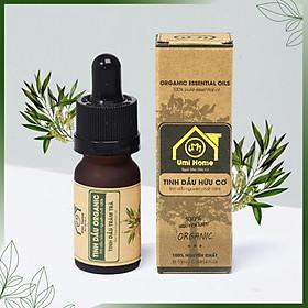 TINH DẦU TRÀM TRÀ HỮU CƠ UMIHOME nguyên chất | Tea Tree Essential Oil 100% Organic 10ml