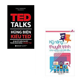 """Combo Hùng Biện Kiểu Ted 1 - Bí Quyết Diễn Thuyết Trước Đám Đông """"Chuẩn"""" Ted + Nói Ra Đừng Sợ - Kỹ Năng Thuyết Trình Cho Người Mới Bắt Đầu"""