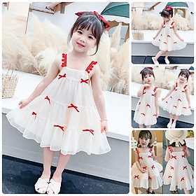 VT59Size90-130 (9-27kg)Váy đầm bé gái - Kiểu dáng công chúaThời trang trẻ Em hàng quảng châu