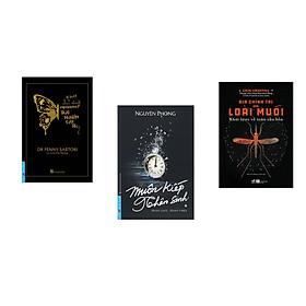Combo 3 cuốn sách:  Trải Nghiệm Cận Tử + Muôn Kiếp Nhân Sinh + Địa chính trị của loài muỗi - Khái lược về toàn cầu hóa