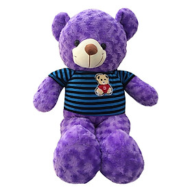 Gấu Bông Teddy Ichigo Shop (75cm) – Tím