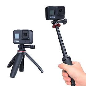 Ulanzi MT-09 - Tripod Tích Hợp Gậy Selfie Cho GoPro Và Action Camera - Hàng chính hãng