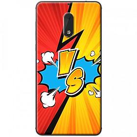Hình đại diện sản phẩm Ốp lưng dành cho Nokia 6 mẫu VS đỏ vàng