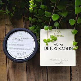 Mặt Nạ Thải Độc Lasenta Detox Kaolin Mask 200g - Thải Độc, Sạch Sâu, Kiềm Dầu, Bay Mụn