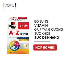 Viên uống Vitamin tổng hợp tăng cường sức khỏe đề kháng Doppelherz Aktiv A-Z Depot (Hộp 60 viên)