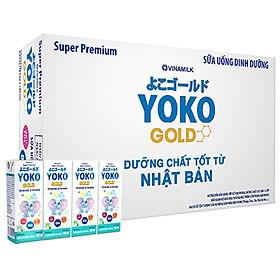 Thùng 48 Hộp Sữa Bột Pha Sẵn Vinamilk Yoko Gold 180ml